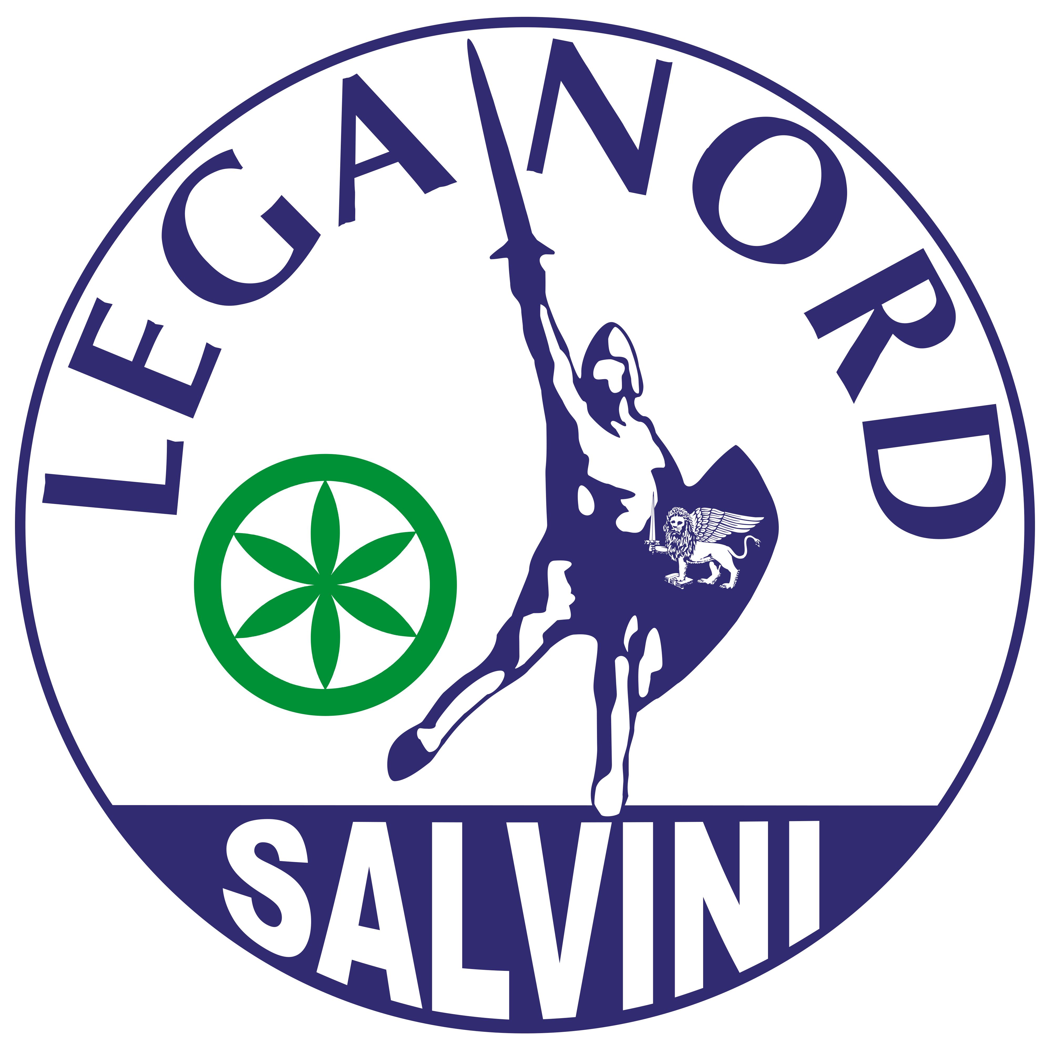 Simbolo LegaNord Salvini mar15